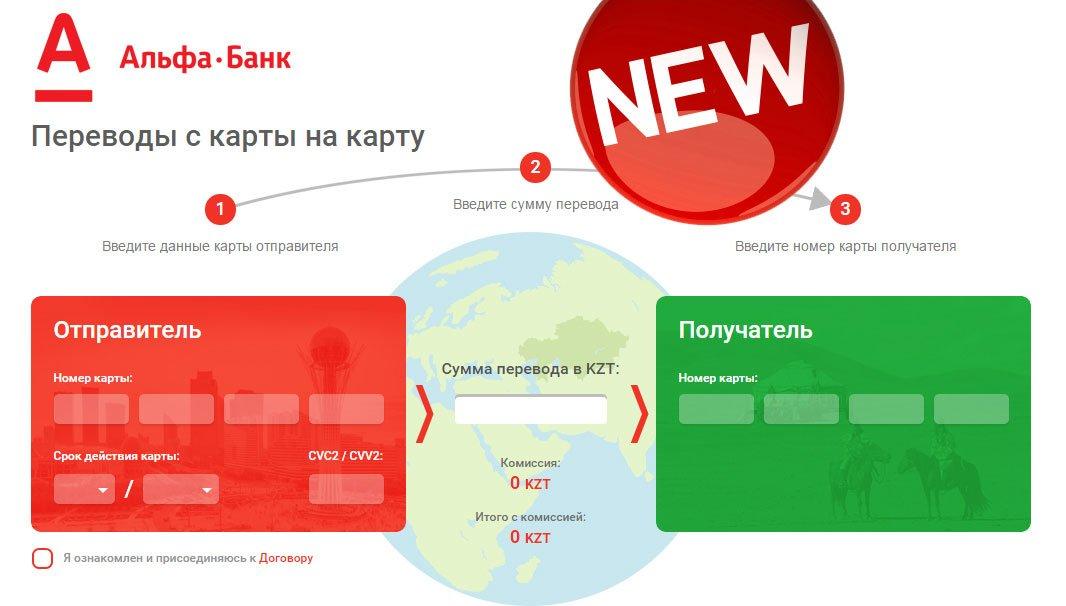 Альфа банк раздел банковские карты и переводы