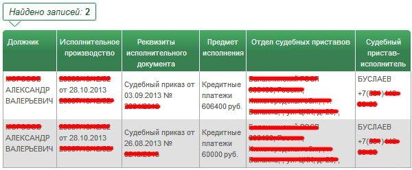 Пробить долги по судебным приставам русский стандарт взыскание задолженности