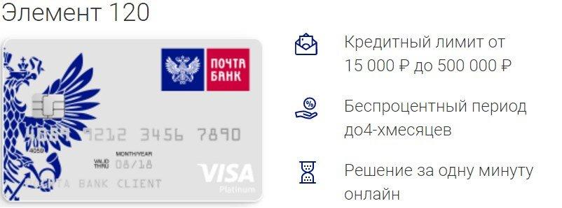 уралсиб банк кредитная карта элемент 120