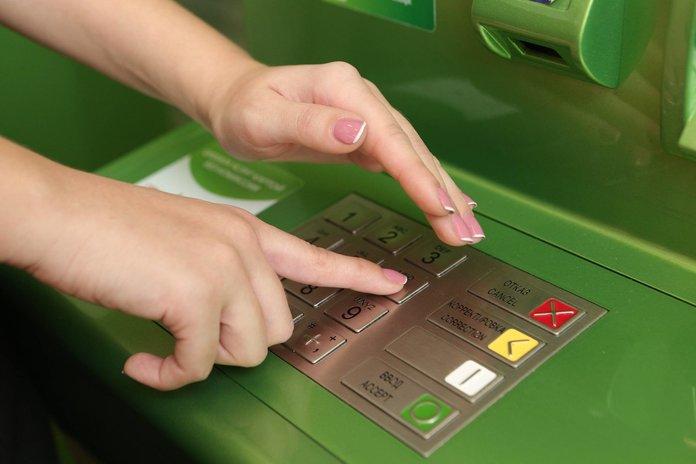 Оплата кредита с помощью банкомата Сбербанка
